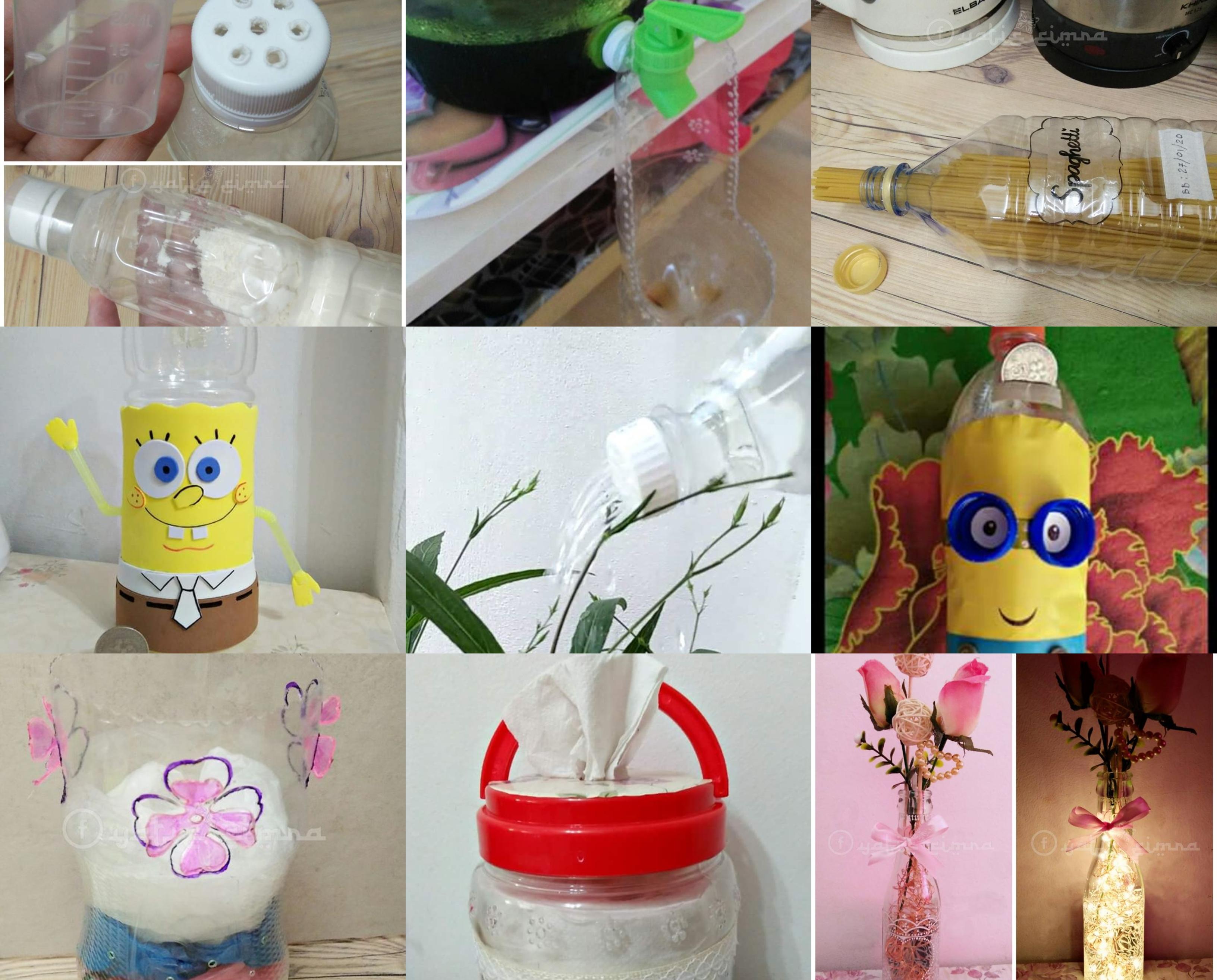 Gambar Botol Lama Jangan Dibuang Ini Antara Produk Kitar Semula Yang Kita Boleh Hasilkan Untuk Kegunaan Di Rumah