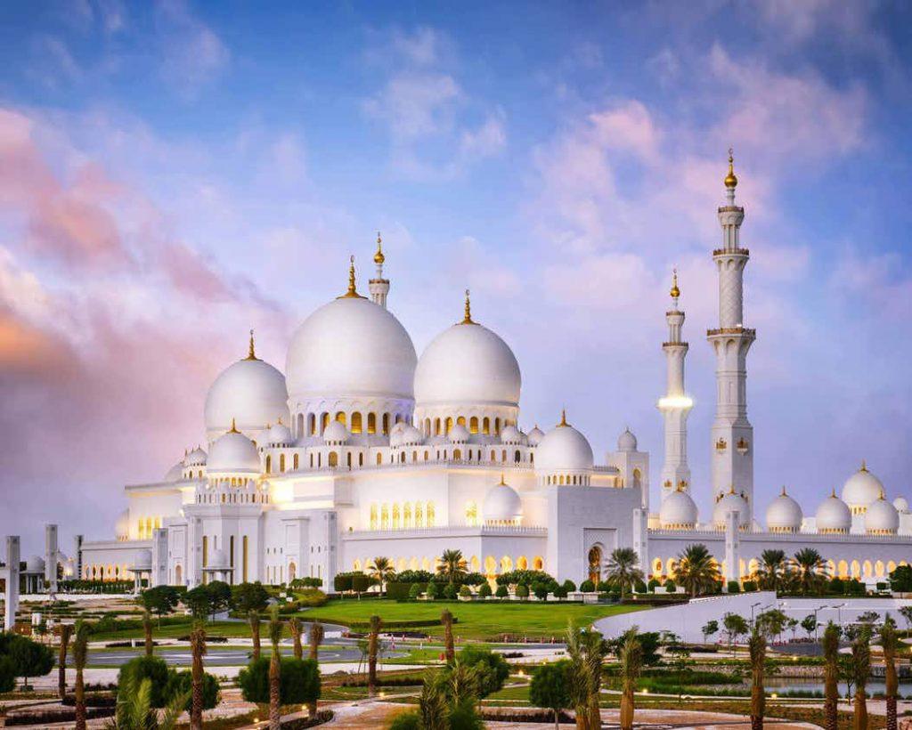 10 Masjid Terindah Di Dunia Berada Di Iran Hingga Spanyol Sheikh Zayed Grand Mosque Center 1600x900 Download Hd Wallpaper Wallpapertip